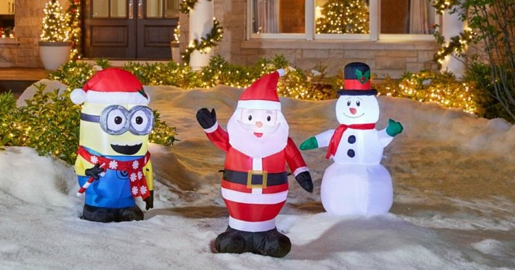home depot christmas clearance up to 75 off - Home Depot Inflatable Christmas Decorations