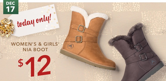 Women's & Girl's Nia Boots  Only $12 Today Only at Payless!