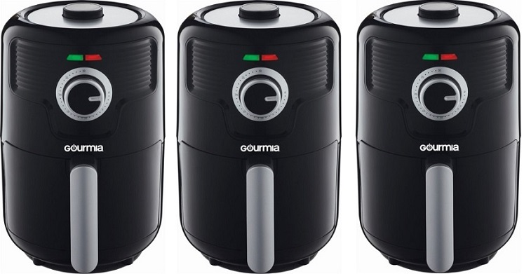 Best Buy: Gourmia  2.2Qt Hot Air Fryer $29.99 – Today Only (9/6)