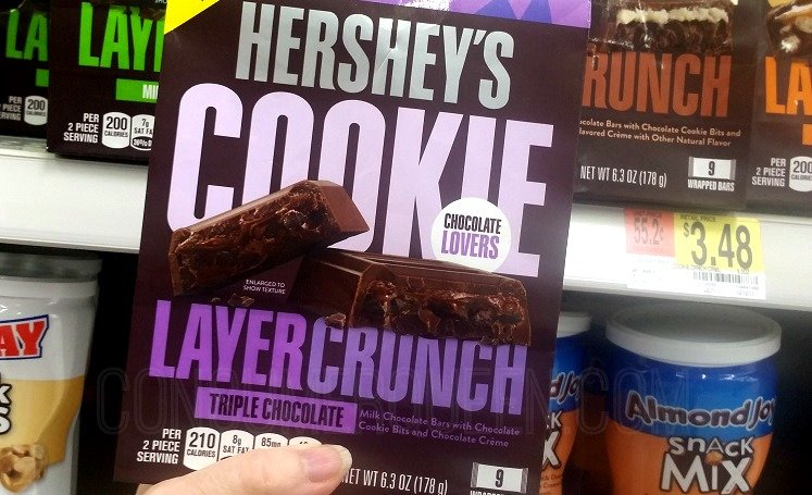Hershey's Cookie Layer Crunch 74¢ After Cash Back + Drugstore Deals!