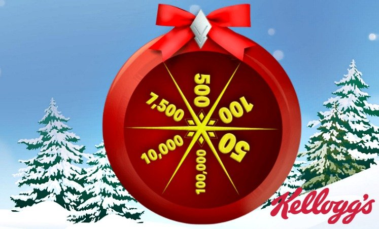 Kellogg's Rewards Holiday Spin to Win – Get Points Everyday!