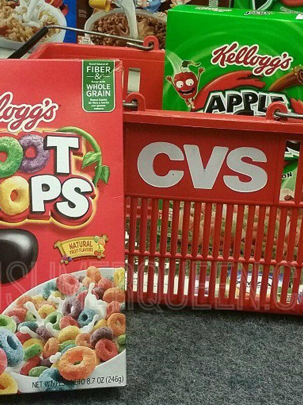 Kelloggs Cereals as Low as 86¢ at CVS & Walgreens!