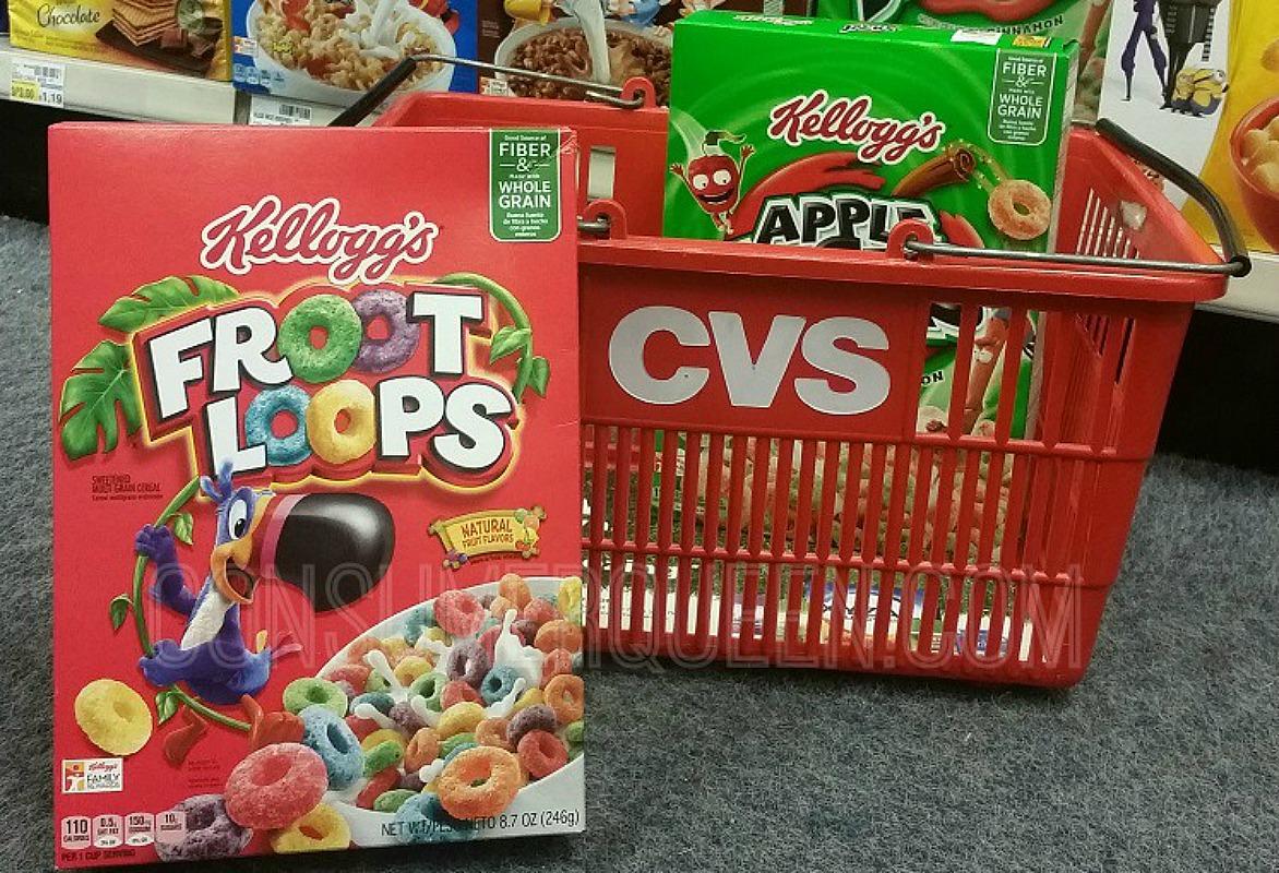kelloggs cereals at cvs
