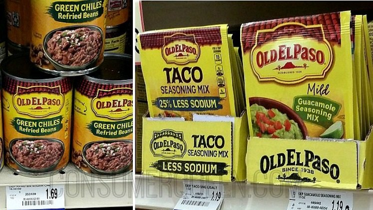 Old El Paso as Low as 19¢ at Homeland & Country Mart!
