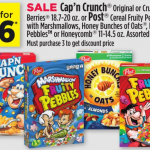 Post Cereals Only $1.25 at Dollar General This Week!