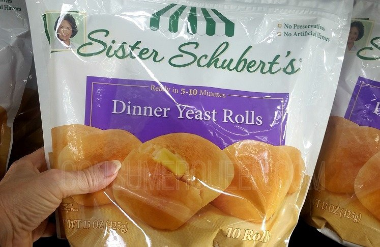 Great Buy On Sister Schubert S Rolls After Cash Back At Walmart