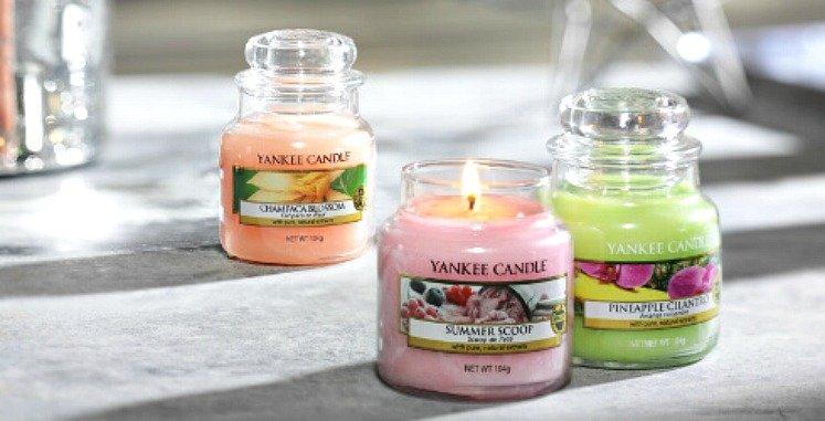 Small Yankee Candle Classic Jar Candles : Buy One,& Get Two FREE!
