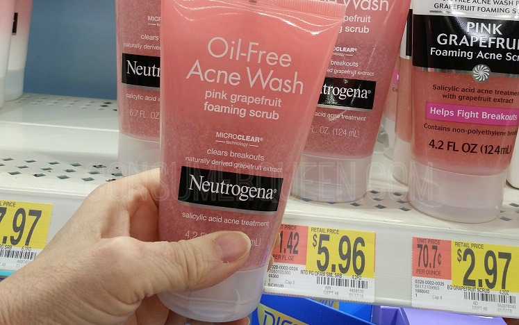 Neutrogena Acne Products As Low As 1 73 At Walmart