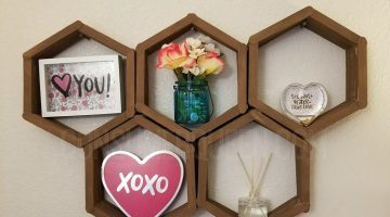 Dollar Tree DIY  – Make a Decorative Wall Shelf