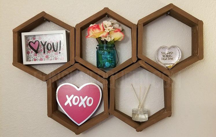 Dollar Tree Diy Make A Decorative Wall Shelf