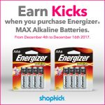 Get Your $5 eGift Card at Walmart with Energizer!