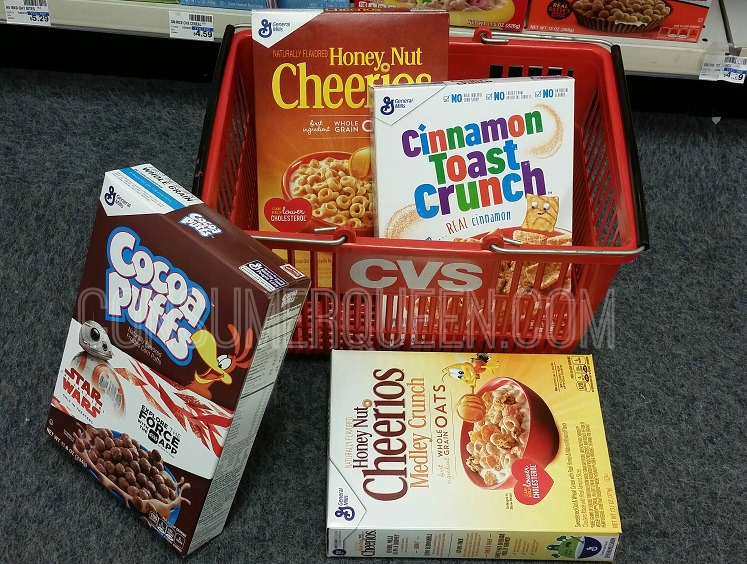 General Mills Cereal $1.00 at CVS Starting 3/3 – Print Coupons Now!