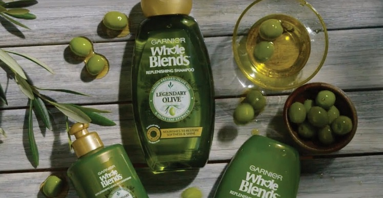 FREE Sample of Garnier Whole Blends Legendary Olive Shampoo or Conditioner!