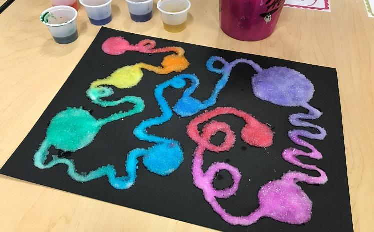 FREE in OKC: Salt Painting Make 'n Take – January 13th