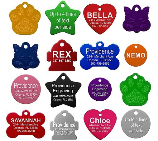 Pet ID Tags Only $2.99 + FREE Shipping (For Everyone) on Amazon!