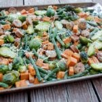 Roasted Sausage and Veggies Recipe – A Healthy Summer Dish!