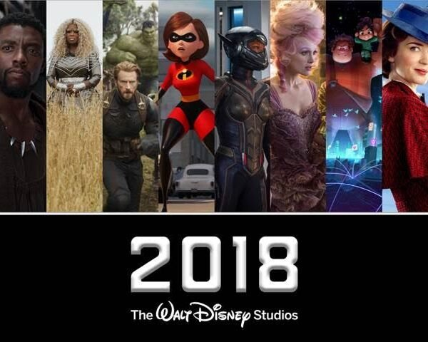Disney Movie Lineup 2018!