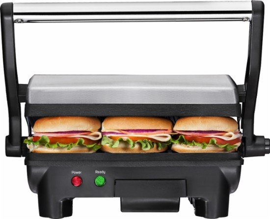 Best Buy: Chefman Grill + Panini Press $24.99 – Today Only (1/16)