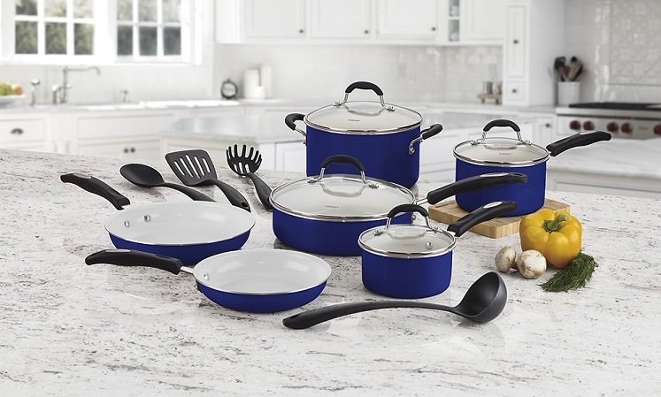 Best Buy: Cuisinart Ceramic 14 Pc Cookware Set $79.99 – Today Only (1/18)