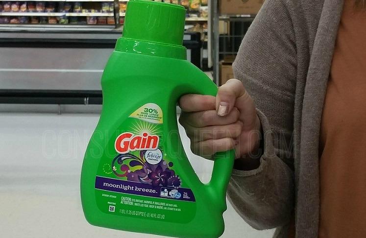 Gain Liquid Detergent $2.97, Flings $2.47 at Walmart