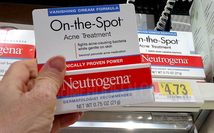 Neutrogena Acne Products as Low as 62¢ After Cash Back