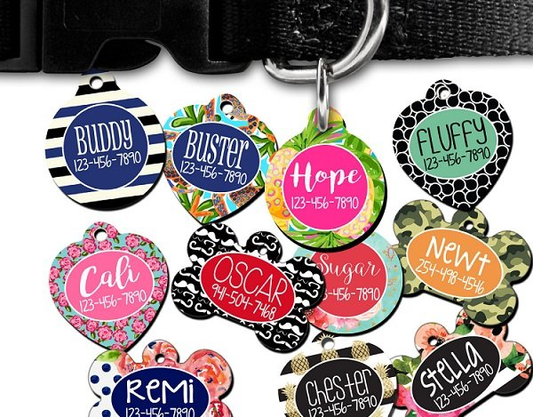 Personalized Pet Tags Just $7.98 (or less) Shipped!