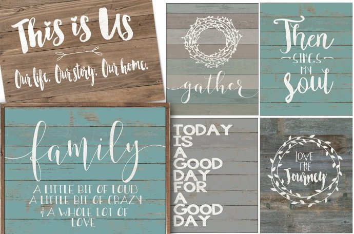 Large Rustic Market Prints Only $7.66 Shipped!