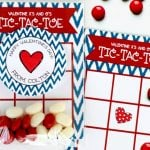 Personalized 12-ct. Valentines Tic Tac Toe Cards, Stickers + Treat Bags $9.90 Shipped!