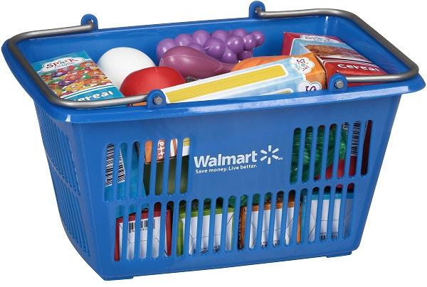 Walmart Toys Food : Walmart toy shopping basket w food only pick up