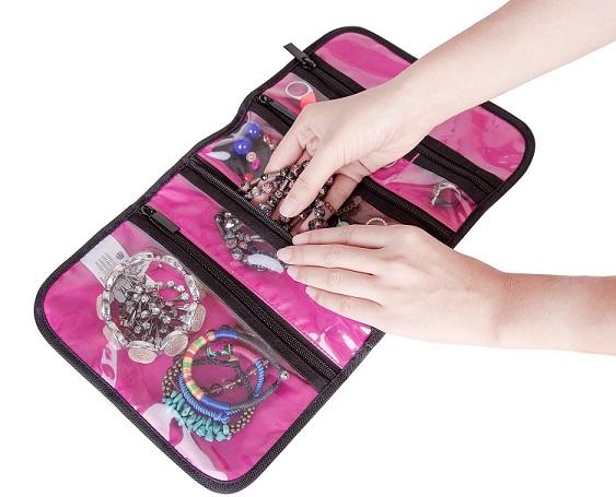 Bagsmart Hanging Jewelry Travel Bag Only $13.29 (Reg. $18.99)