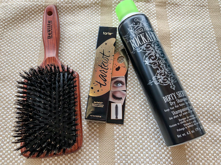 Beauty Brands Brush and hairspray