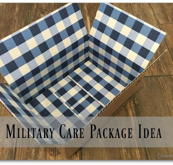 Easy DIY Military Care Package Ideas!