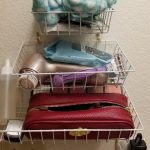 Dollar Tree DIY – Wire Basket Storage For The Bath