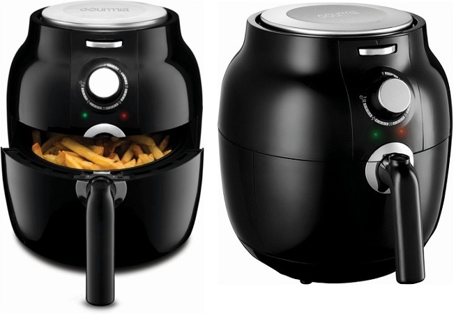 best buy gourmia hot air fryer today only 2 6. Black Bedroom Furniture Sets. Home Design Ideas