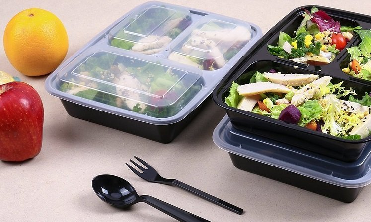 Amazon: Kitchen Komforts 20pk Meal Prep Containers $13.76