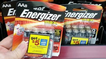 Energizer Battery eGift Card Rebate + Walmart Deal