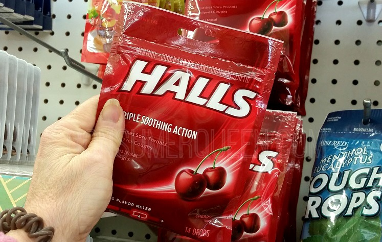 Hall's Cough Drops 14-ct. ONLY 37¢ at Dollar Tree