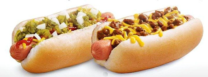 Sonic Drivein Hot Dogs for Only