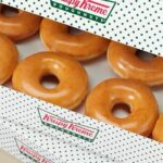 Krispy Kreme glazed Doughnut for free
