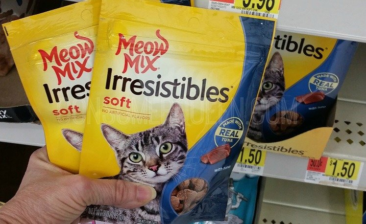 image relating to Meow Mix Coupon Printable called Meow Merge Coupon codes + Walmart Offers (as Small as 27¢!)