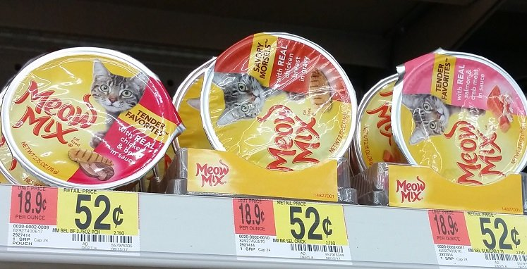 Great Buys On Meow Mix Wet Food At Walmart Target