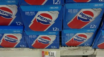Pepsi 12-pk Soda Only $2.83 at Walmart