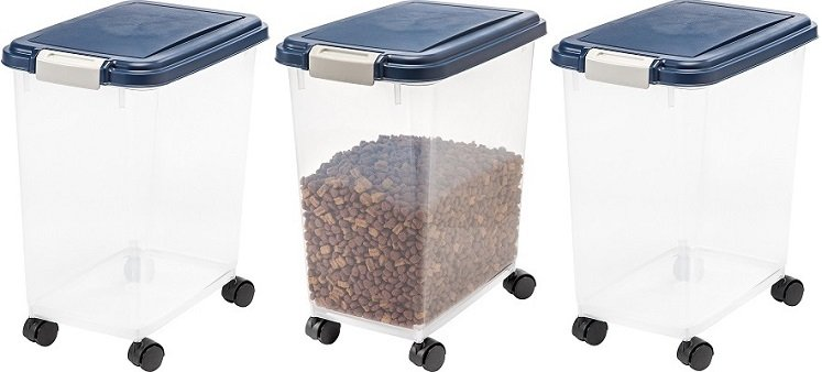 Amazon: IRIS Airtight Pet Food Storage Container $10.89 (Reg.$24.99)