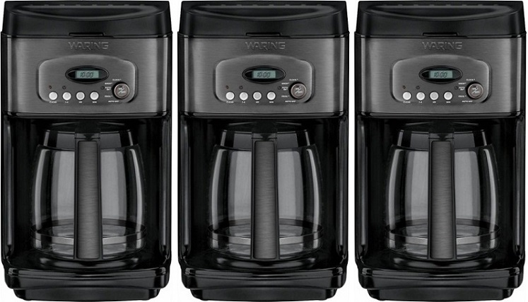 Best Buy: Waring Pro 14-Cup Coffeemaker $49.99 – Today Only (2/8)