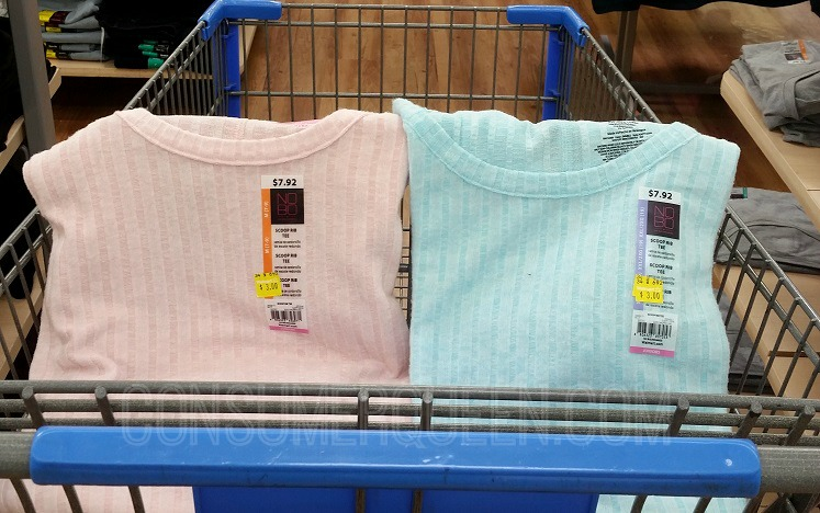 Possible Girl's Graphic Tees $1, Women's Tees $3 at Walmart