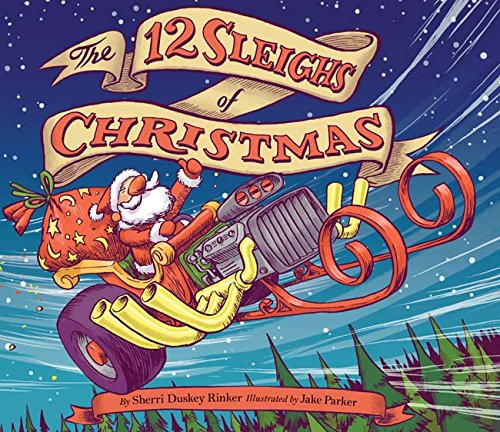 The 12 Sleighs of Christmas Hardcover Book $5.61 (Regularly $16.99)