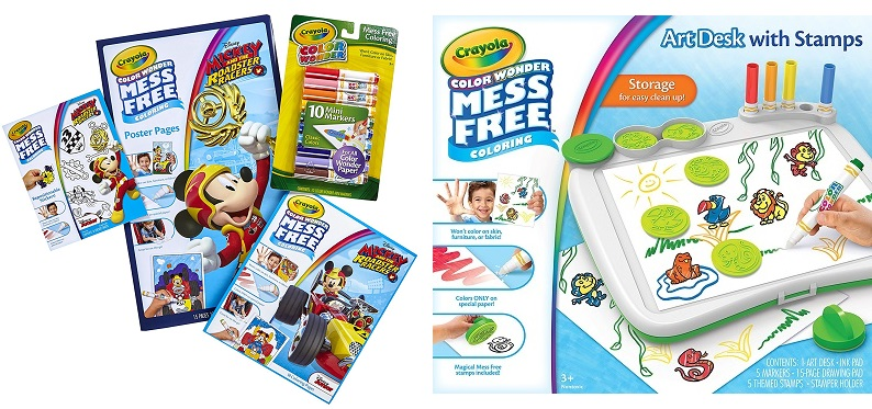 Crayola Products Up To 50 Off On Amazon Today Only 3 19
