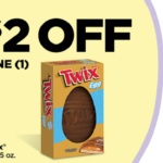 Dollar General Daily Deal- $2 Off Giant Twix Egg
