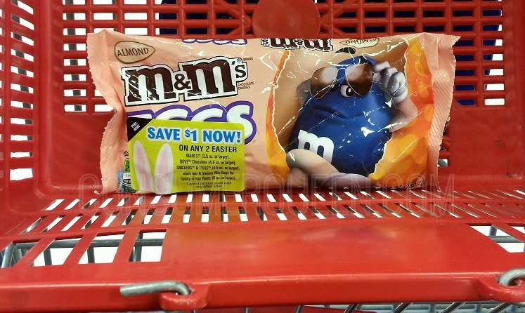 Easter M&M's Only $1.50 per Bag at CVS This Week!