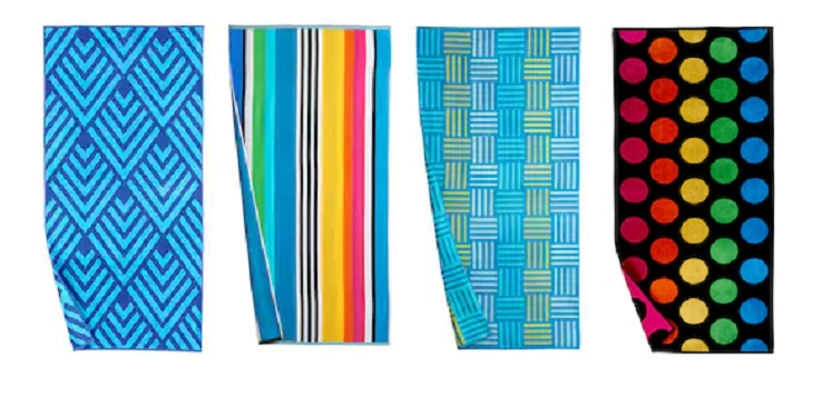 Kohl's Cardholders: The Big One Beach Towels $6.99 Shipped!